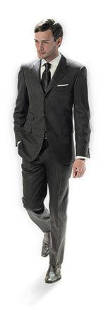 smart bespoke suit